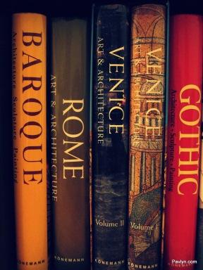 Baroque, Gothic and Italian Art Books