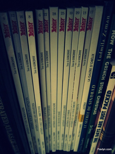 Asterix Comics Collection in French