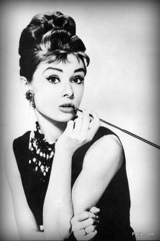 Audrey Hepburn in Breakfast at Tiffany's Classic Look