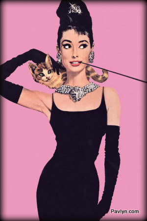 Audrey Hepburn Breakfast at Tiffany's Little Black Dress and pearls