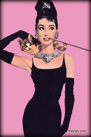 Audrey Hepburn Breakfast at Tiffany's Little Black Dress and pearls