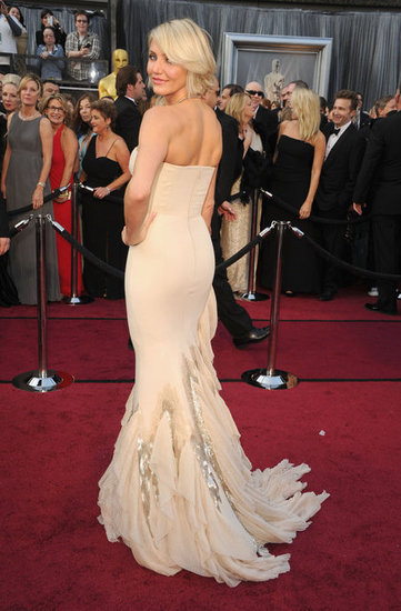 Cameron Diaz Gucci Dress - Oscars 2012