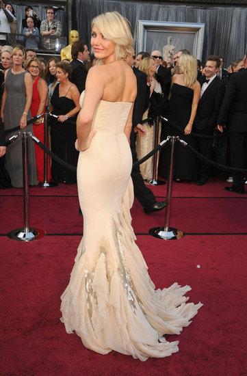 Cameron Diaz Gucci Dress - Oscars 2012