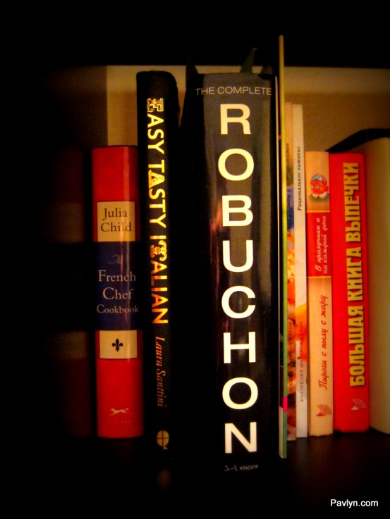 Robuchon and other amazing cook books for Italian, French and Russian cuisine