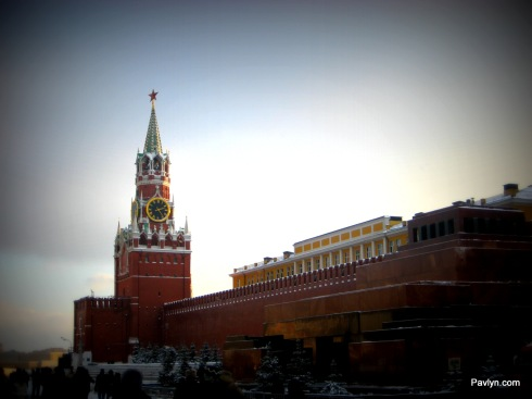 Kremlin's Clock tower