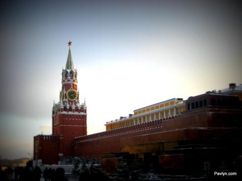 Kremlin's Clock tower