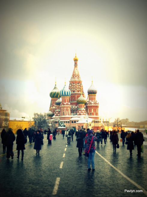 Saint Vasiliy Blazheniy Cathedral in the Red Square