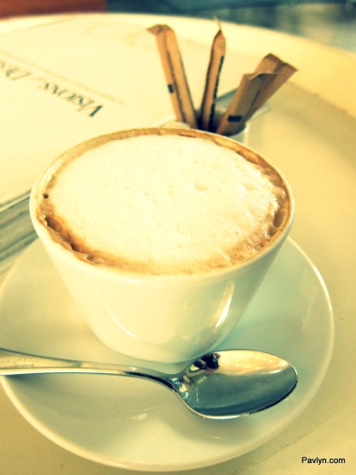 Mildred's Cappuccino is so satisfying on a Sunday morning
