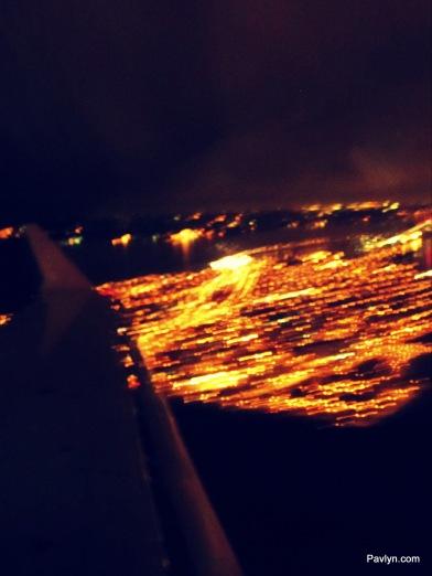 Landing in New York City