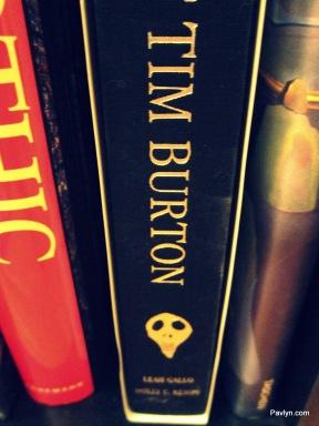 Tim Burton Art Book noting his films, art and creations