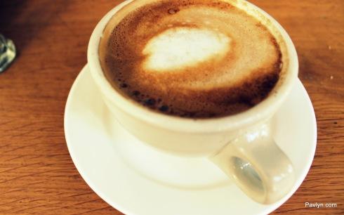 DOMA's delicious Latte