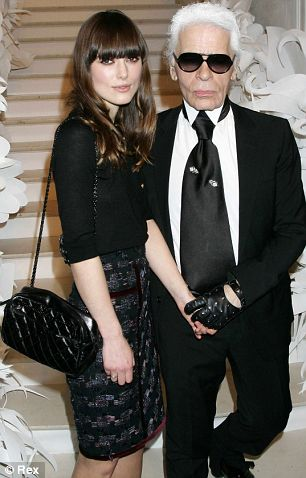 Keira and Karl in Chanel