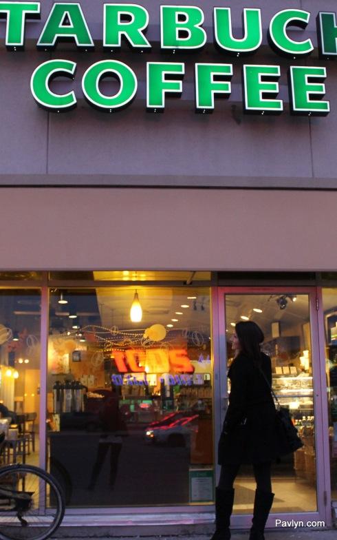 Pavlyn meeting at Starbucks