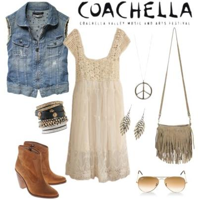 What to wear to a music festival- look inspired by Coachella