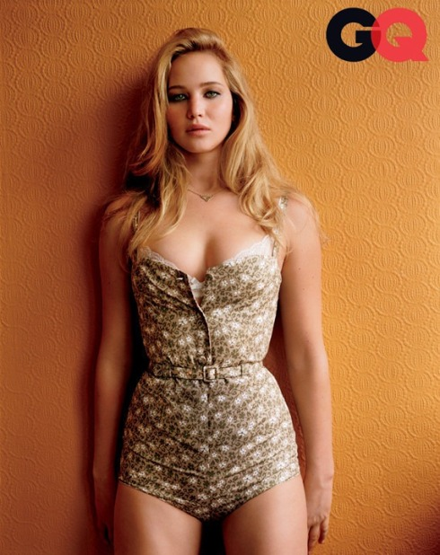 Jennifer Lawrence GQ Cover
