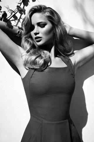 Jennifer Lawrence in Flare Magazine February 2012