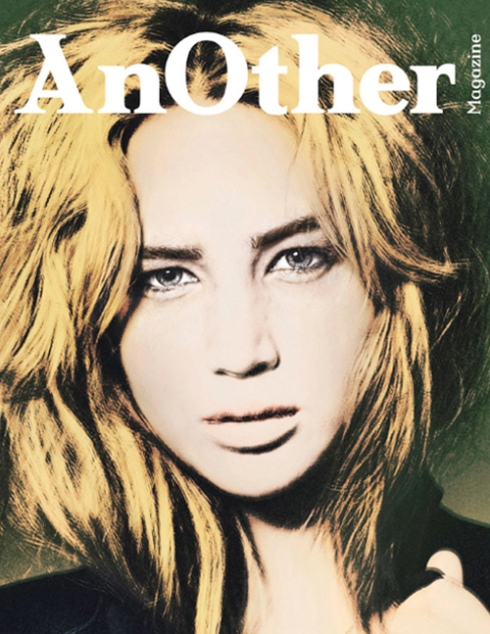 Jennifer Lawrence on the cover of Spring 2011 issue of Another Magazine