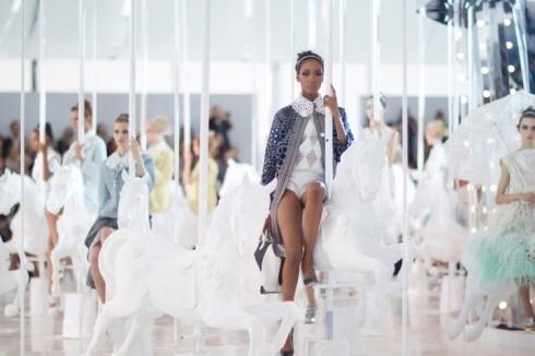 Louis Vuitton Carousel Show
