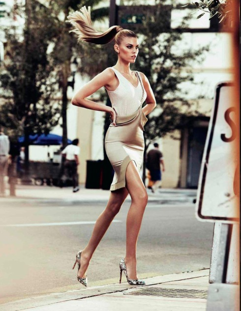 Maryna Linchuk in Vogue 2012