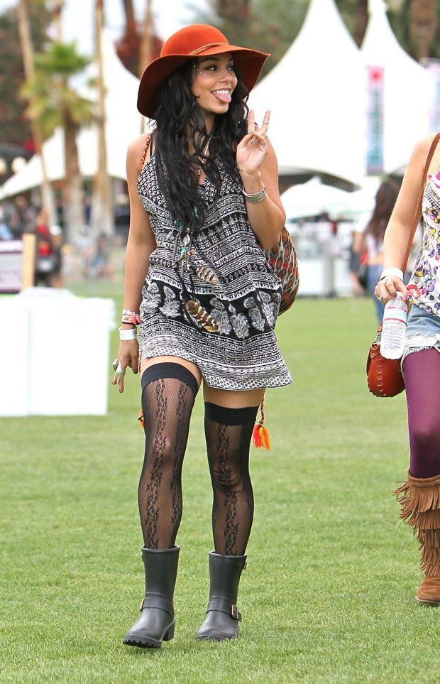 Style Watch Coachella 2012 Celebrity Fashion Pavlyn