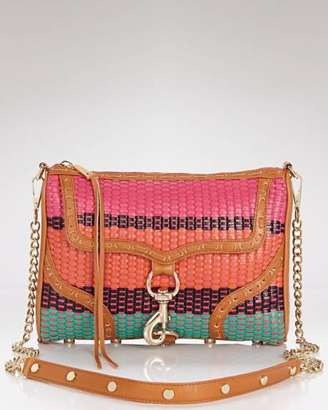 Rebecca Minkoff Mac crossbody color weave
