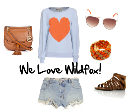 Southern Heart Baggy Beach Jumper from Wildfox Couture