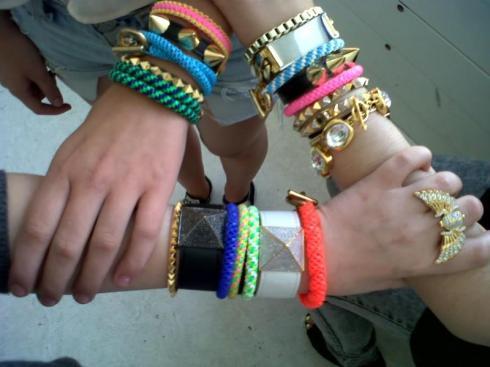 Noir Jewelry Lanyard bracelet