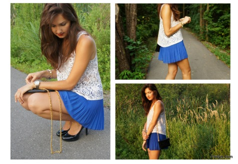 Greylin Cobalt Blue Shorts