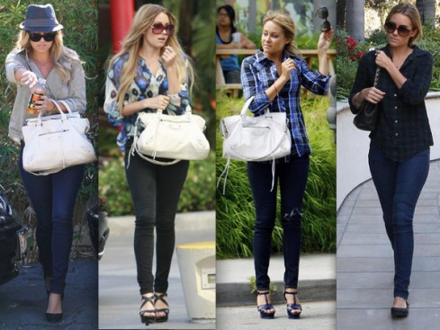 Lauren Conrad in Skinny Jeans and a Top