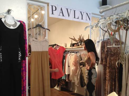Pavlyn Celebrity Pop Up Shop
