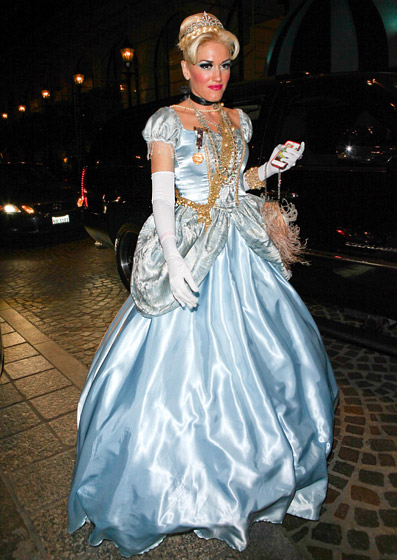 Gwen Stephani as Cinderella