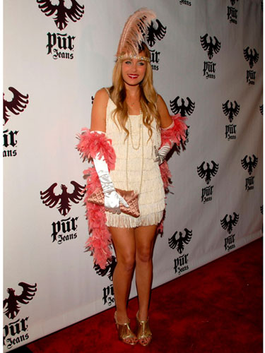 Lauren Conrad Flapper Girl Halloween Costume
