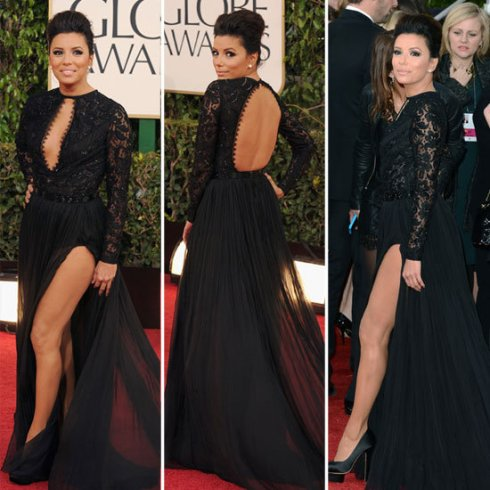 Eva Longoria at 2013 Golden Globes