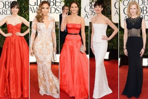 Golden Globes 2013 Best Dressed List