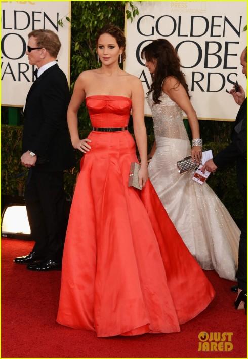 Jennifer Lawrence Golden Globes 2013