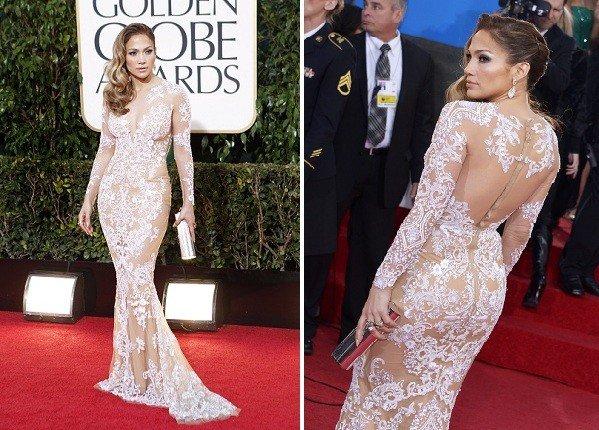 2013 Golden Globes Best Dressed 01 Dark Brown Hairs