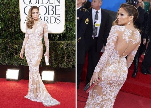 Jennifer Lopez at 2013 Golden Globes