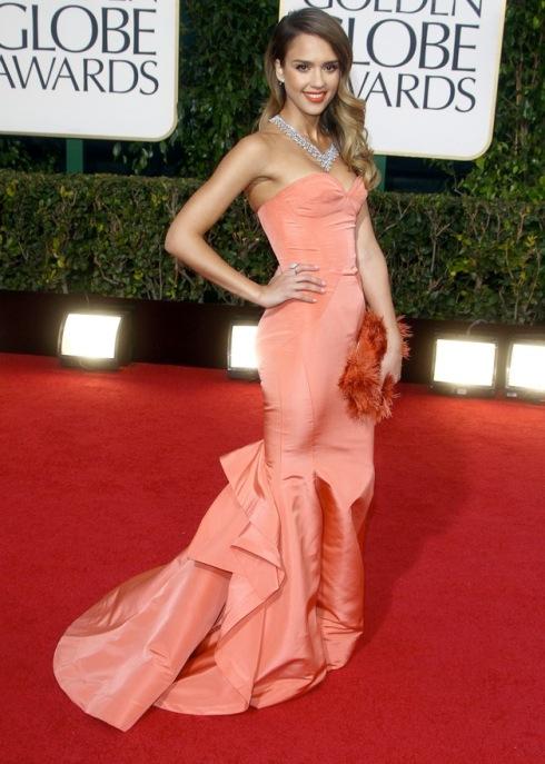 Jessica Alba at 2013 Golden Globe Awards