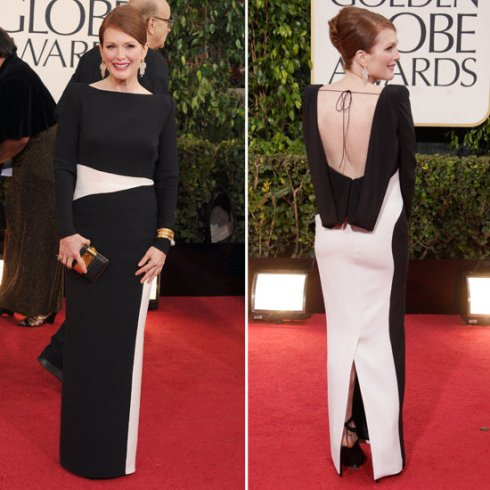 Juliene Moore in Tom Ford at Golden Globes