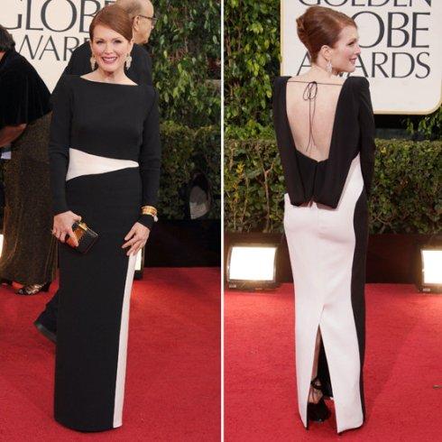 Juliene Moore in Tom Ford at Golden Globes