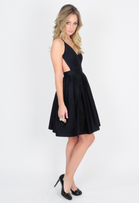 contrarian_barb_bibb dress navy